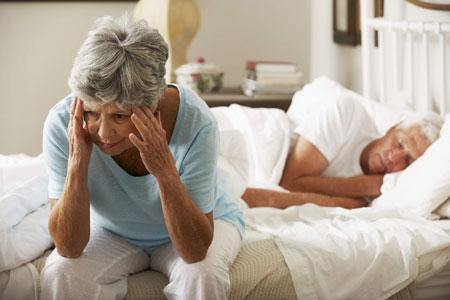 اختلال خواب در سالمندان