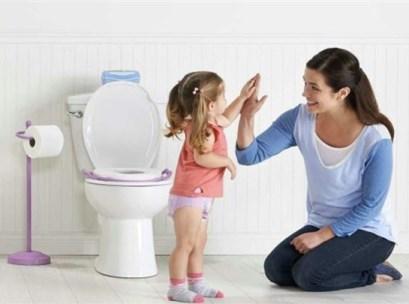 تشویق برای دستشویی رفتن
