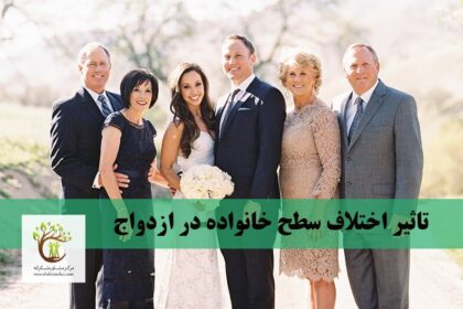 اختلافات طبقاتی بر زندگی زوجین اثر گذار است.