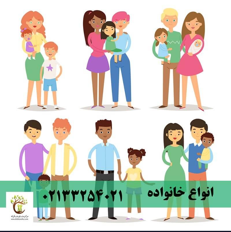 انواع خانواده به چند دسته تقسیم میشود؟_ خانواده و انواع آن_ خانواده در هر سبک زندگی میتواند شاد باشد