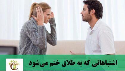 زوجینی که درحال بحث و دعوای زناشویی هستند.