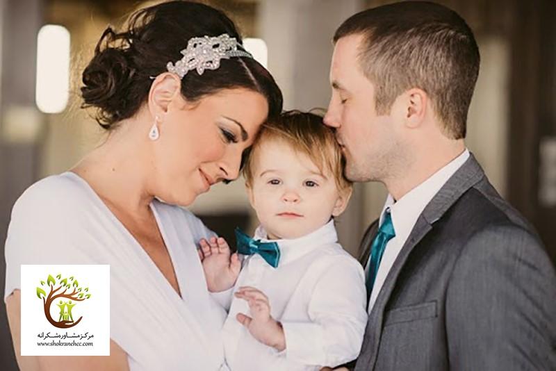 زنی که با داشتن فرزند از همسر سابق خود، تصمیم به ازدواجی مجدد گرفته است.