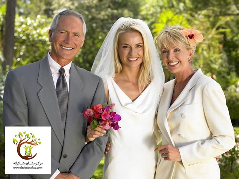 خانواده دختر بعد از گذراندن جلسات مشاوره به ازدواج او رضایت دادند.